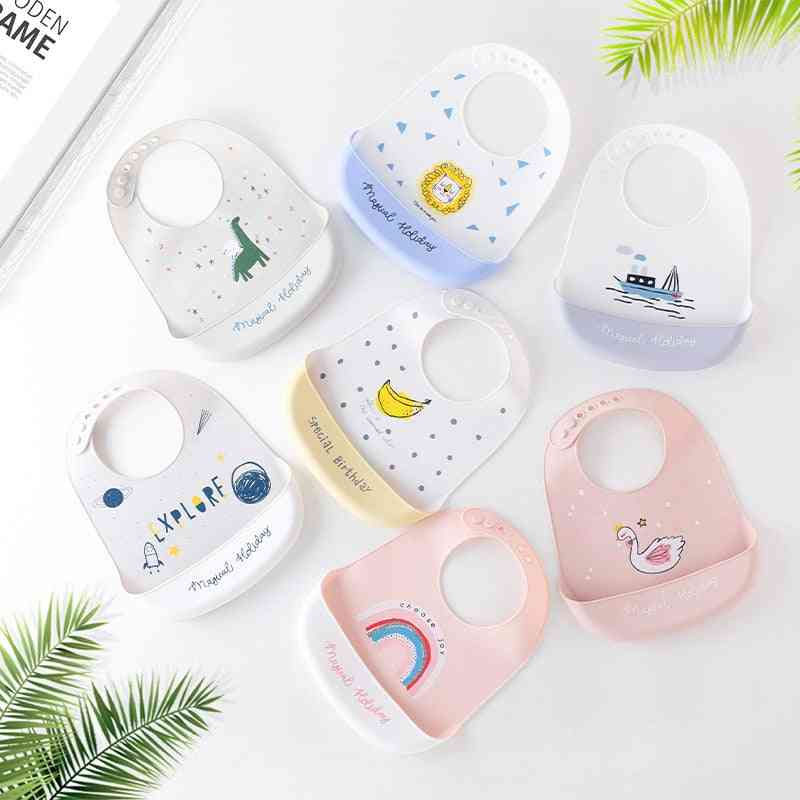 Baby Silicone Baby Meal Bib