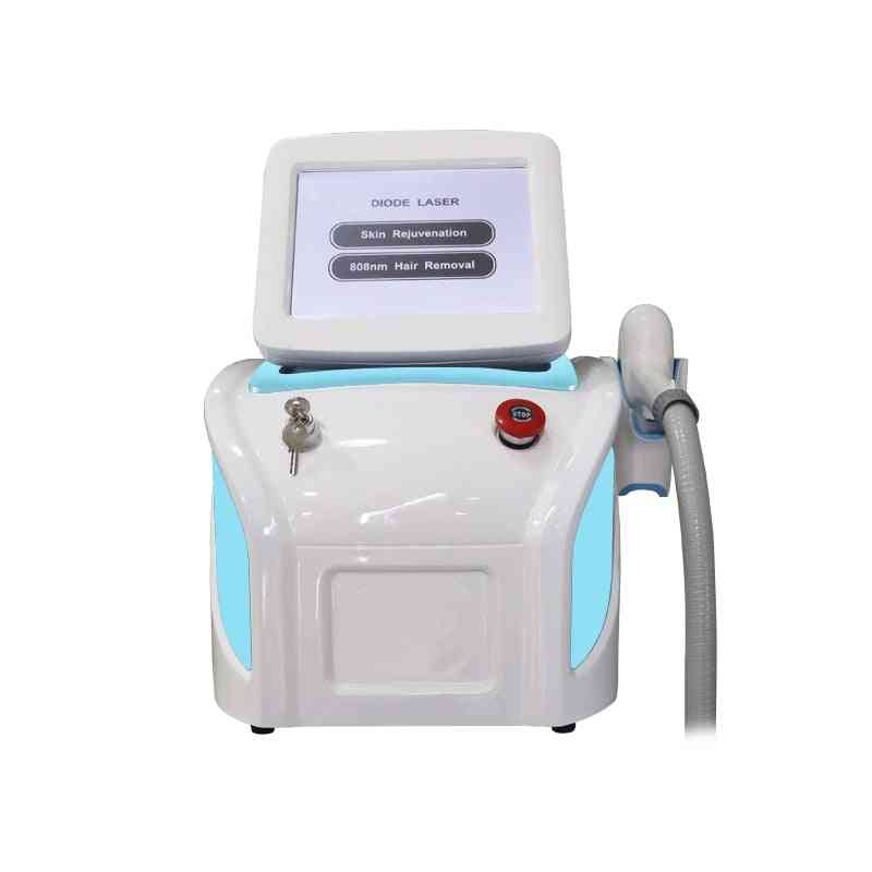 Multiple Spot Sizes 808nm Diode Laser, Nd Yag Permanent Painless Fast Hair Removal