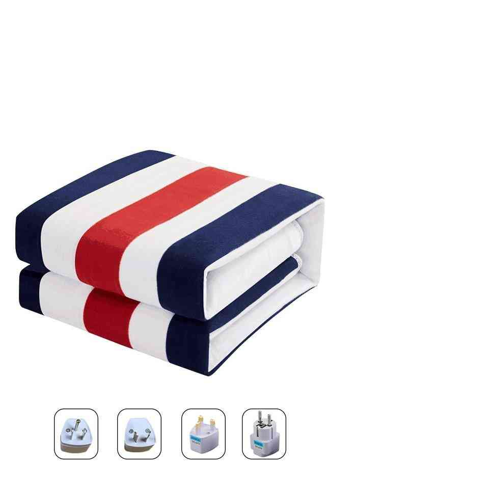 Double Control Electric Small Printed Blanket