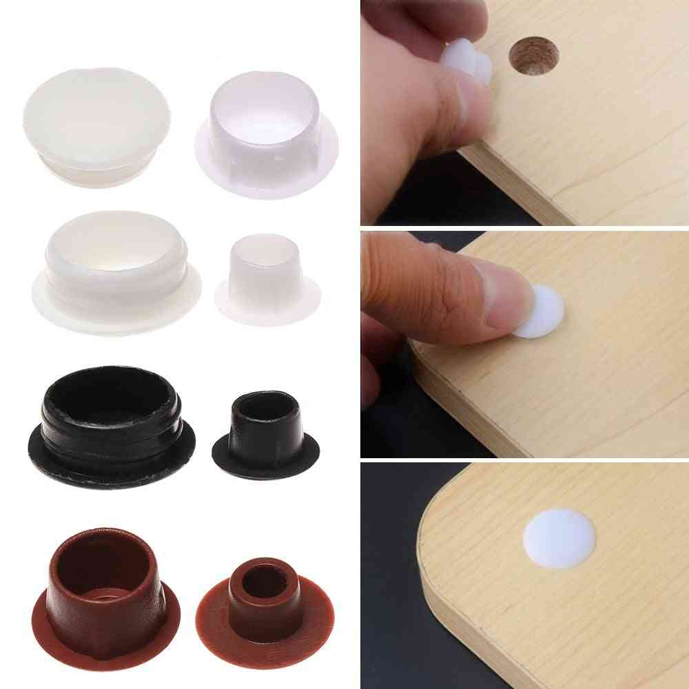 Furniture Hole Covers Protection, Screw Decor Dust Plug Stopper, Cabinet, Drill Hole Hardware Grommet
