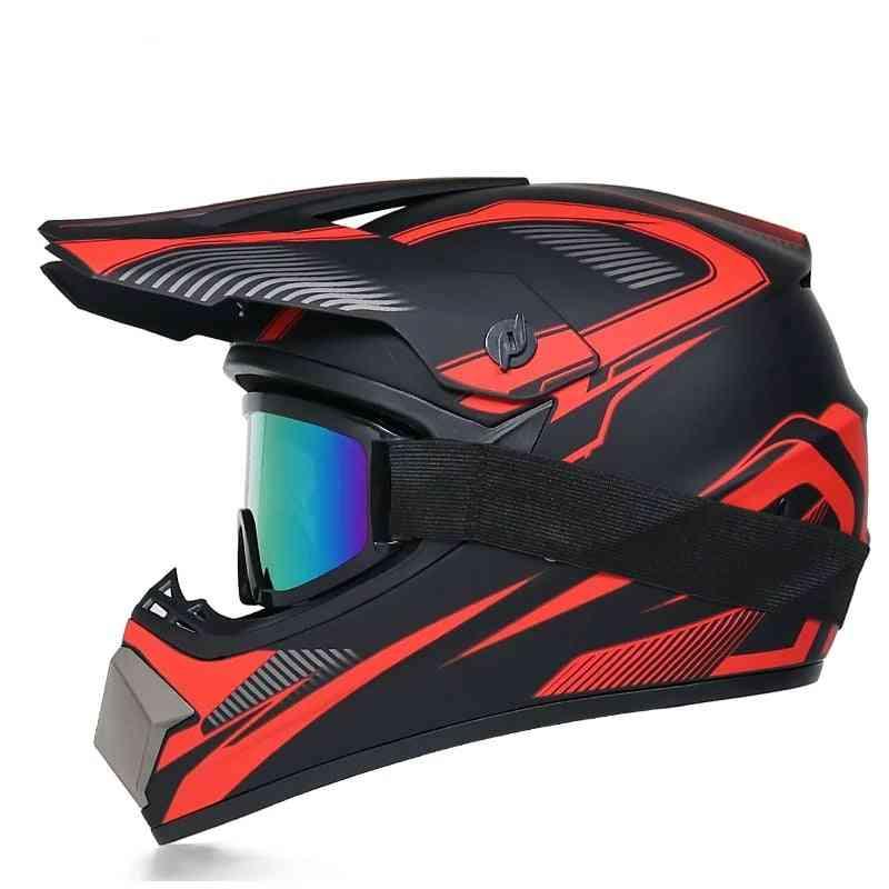 Motorcycle Helmet Off-road Downhill Am Dh Cross Motocross
