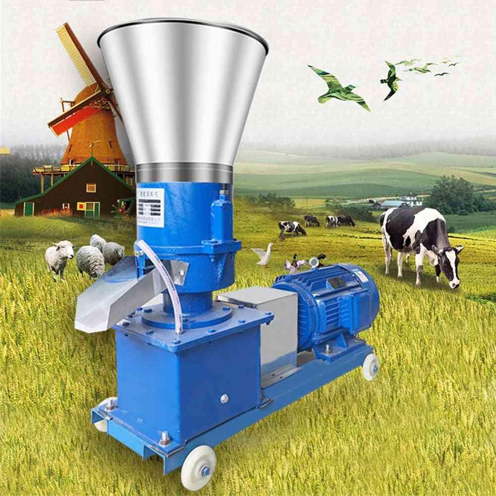 Animal Feed Wood Pellet Mill Biomass Pellet Machine