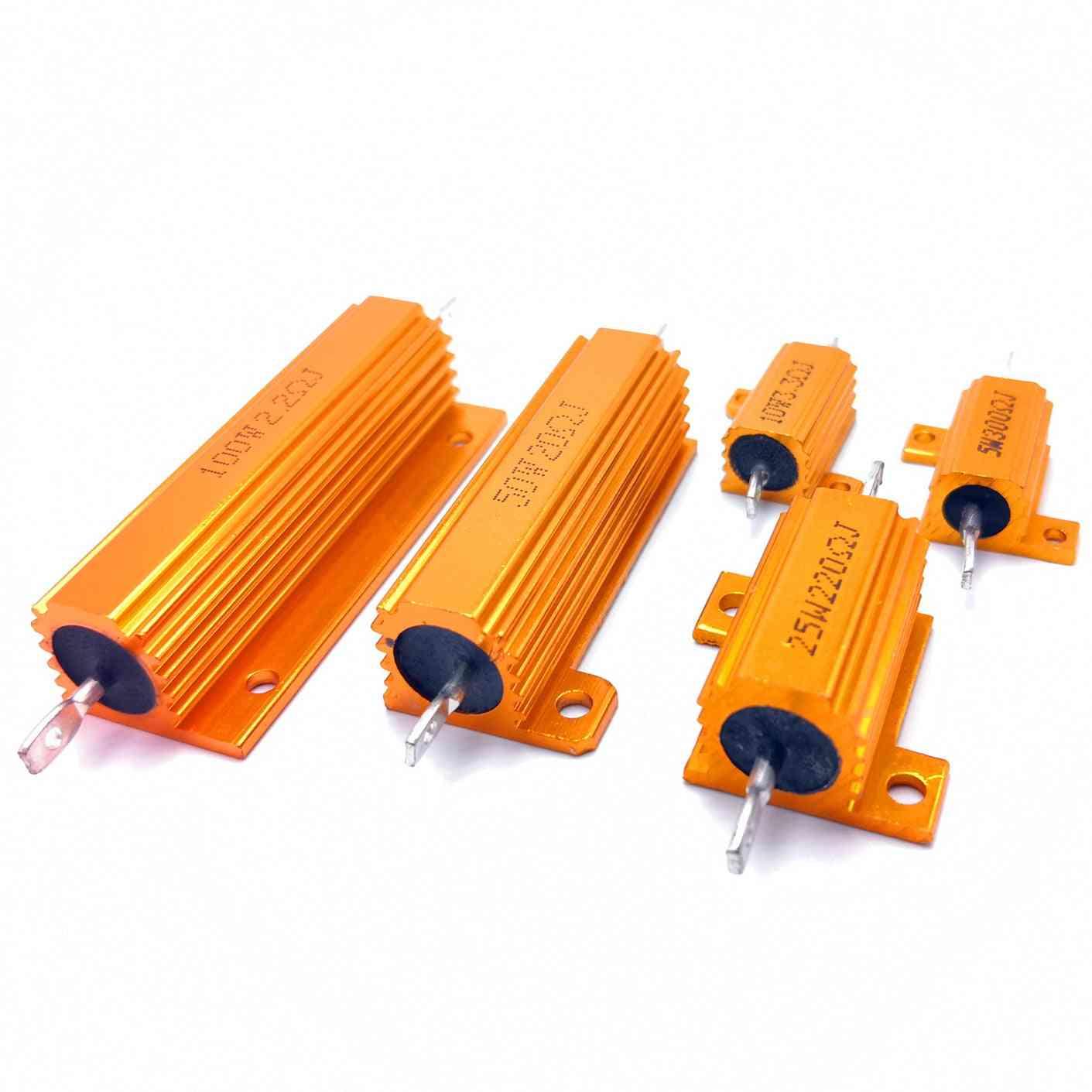 Metal Shell Case Wirewound Resistor ( Set 2)