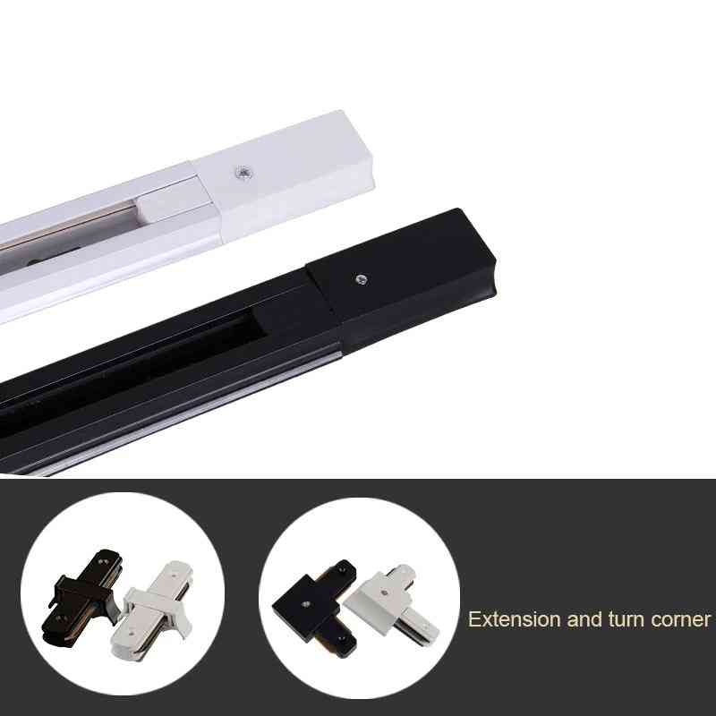 Led Track, Rail Light With 2-wire System, Track Lighting For Spotlights