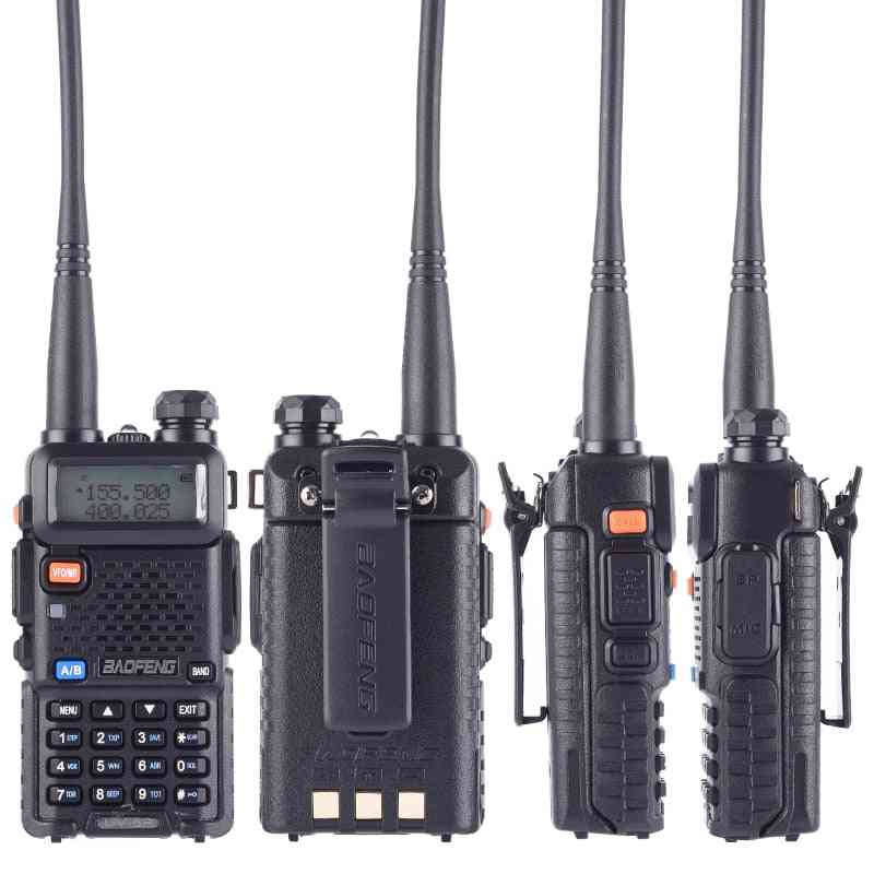Baofeng Uv-5r 8w True High Power 8 Watts Powerful Walkie Talkie