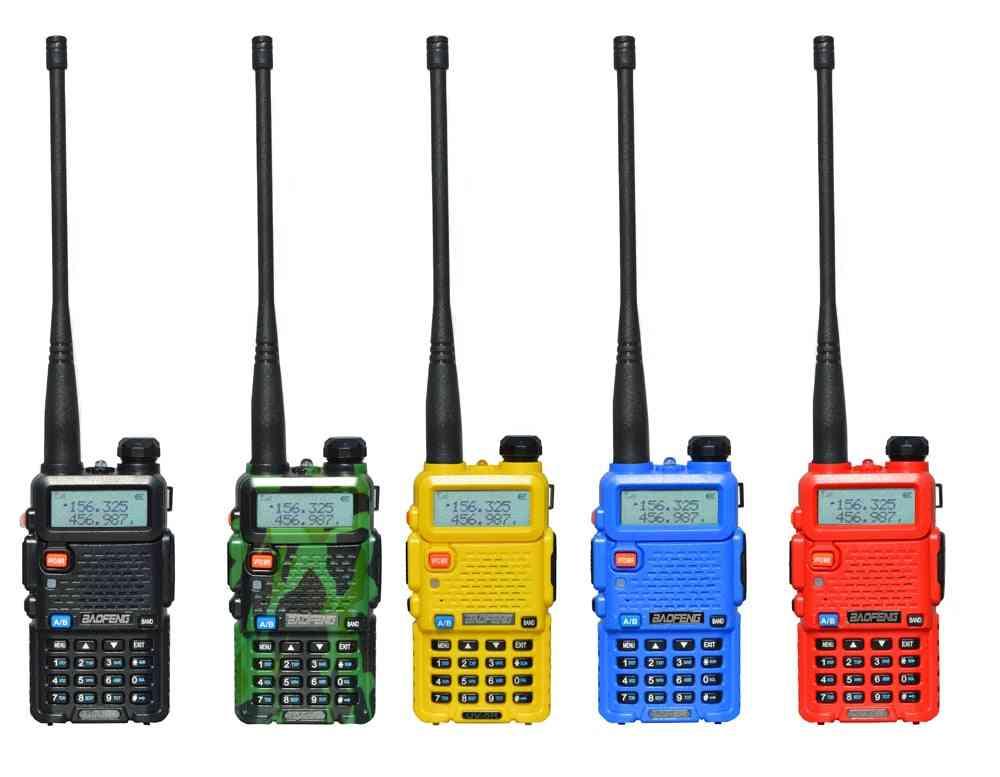 2 Pcs 8w Baofeng Uv-5r Radio Set Walkie Talkie