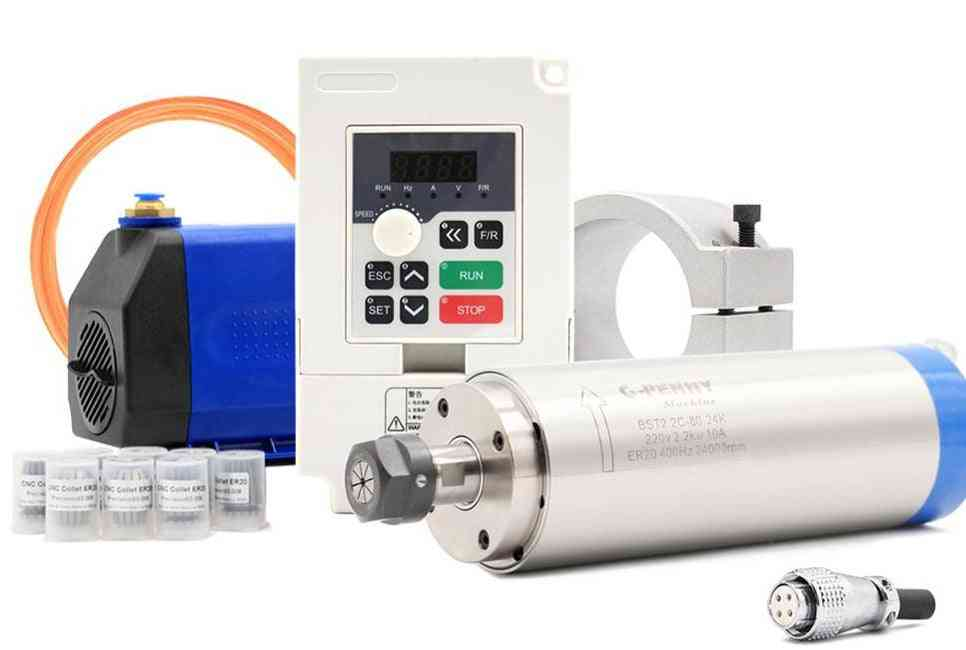 2.2kw Water Cooled Spindle Kit Cnc Spindle Motor