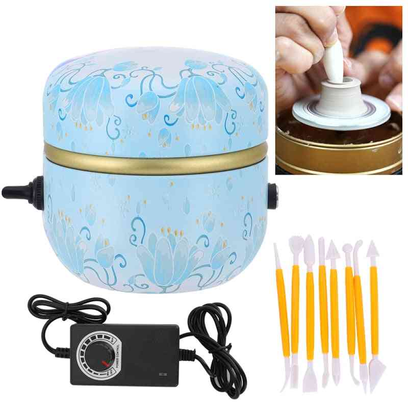 Electric Pottery Wheel Machine Pottery Machine For Diy Clay Tools Ceramic Art Craft