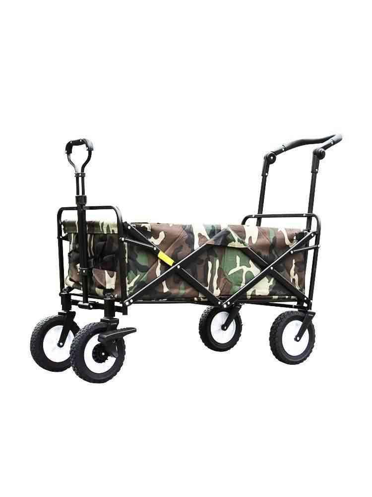 Folding Shopping Outdoor Utility Wagon Collapsible Garden Cart