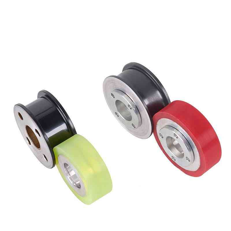 Pan Beating Meter Wheel Wire And Cable Porcelain Spraying Guide Wheel