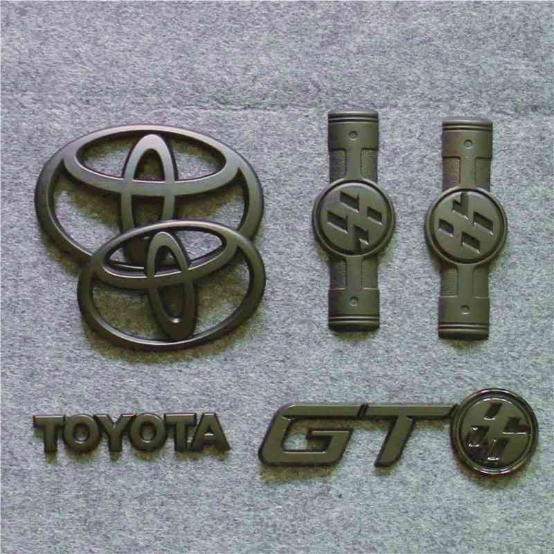 Crown Corolla Front And Rear Car Sandard Tail Box Stickers, Camry Six Generations, Seven Generation, Modified