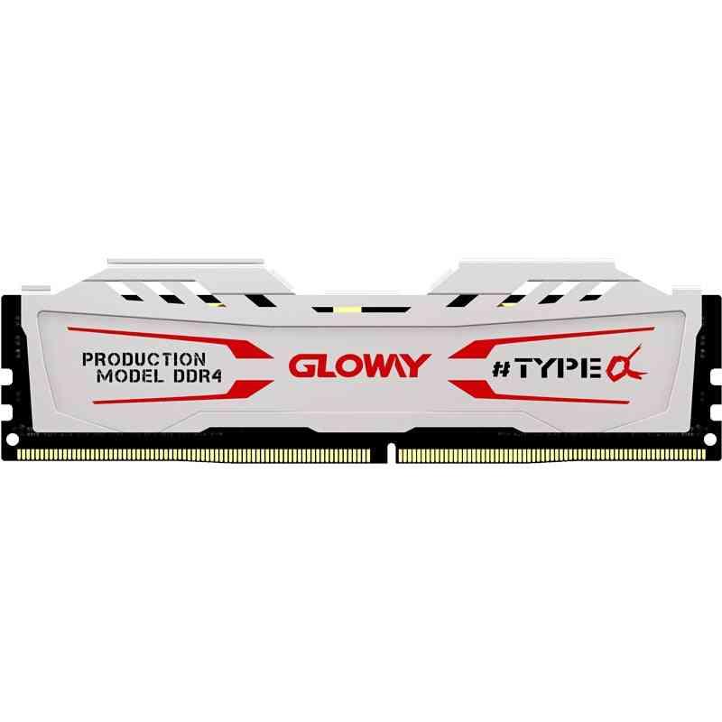 Gloway Type A Series  White  Heatsink Ram Ddr4 8gb  16gb 2400mhz For Desktop