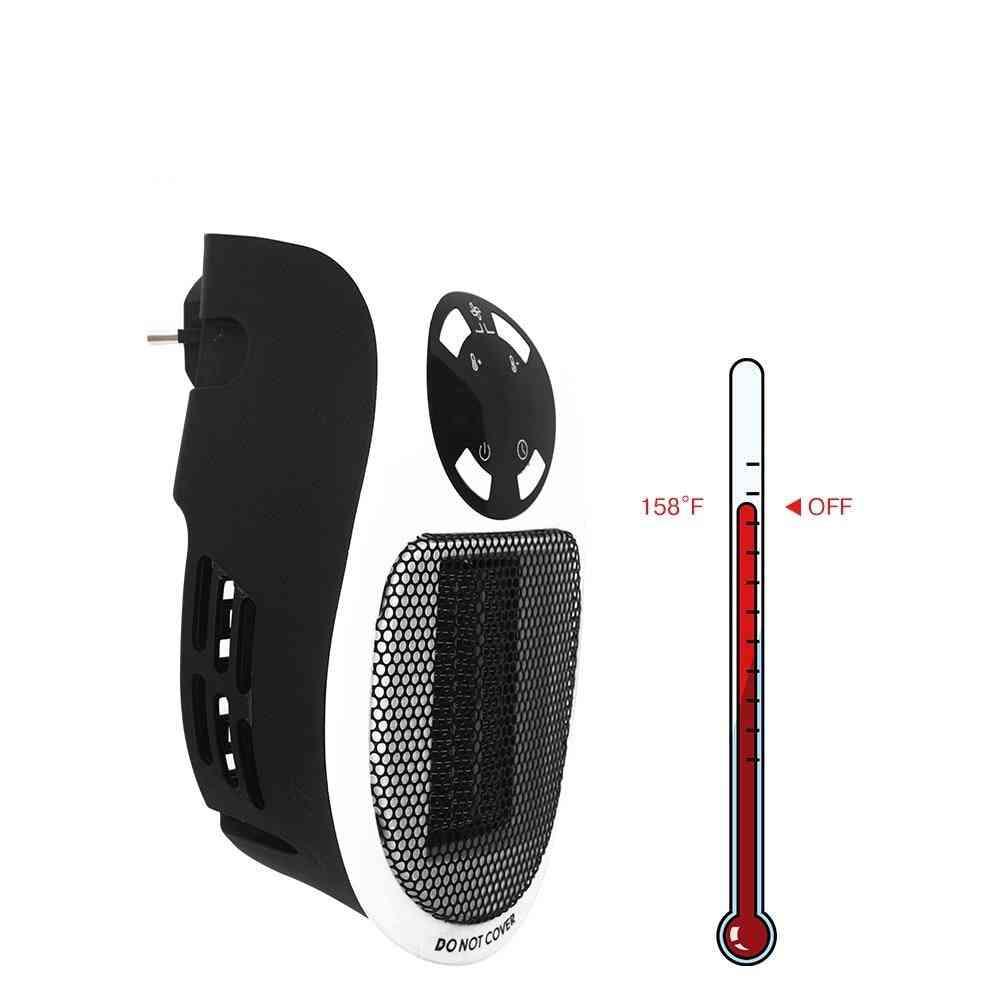 Portable Electric Mini Fan Heater Desktop Household Wall Handy Heating Stove