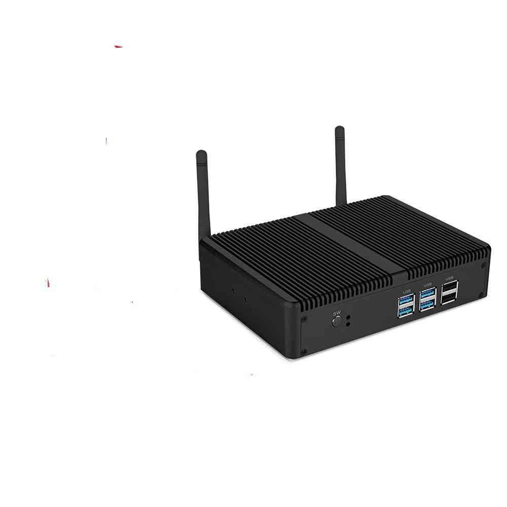 Mini Fanless Pc Intel I5 7200u