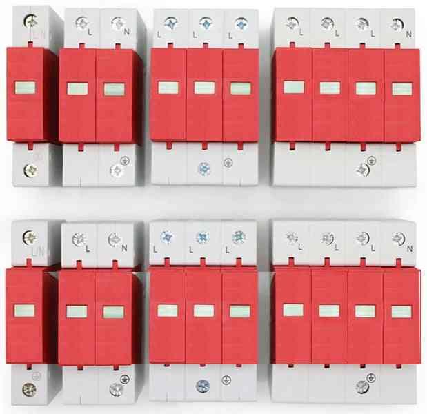 Ac Spd 1p 2p 3p 4p 20~40ka 30ka~60ka 385v Lightning Surge Protector Protective Low-voltage Arrester Device