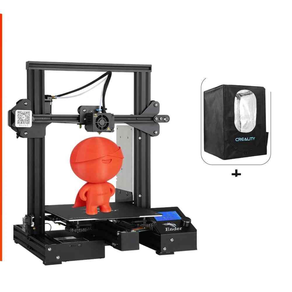 Creality 3d Ender-3 Pro Printer Printing Masks