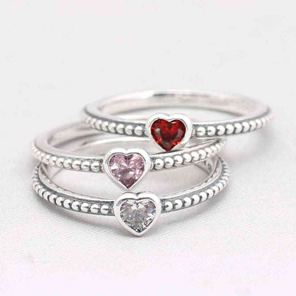Original One Love Golden-red Synthetic Rings