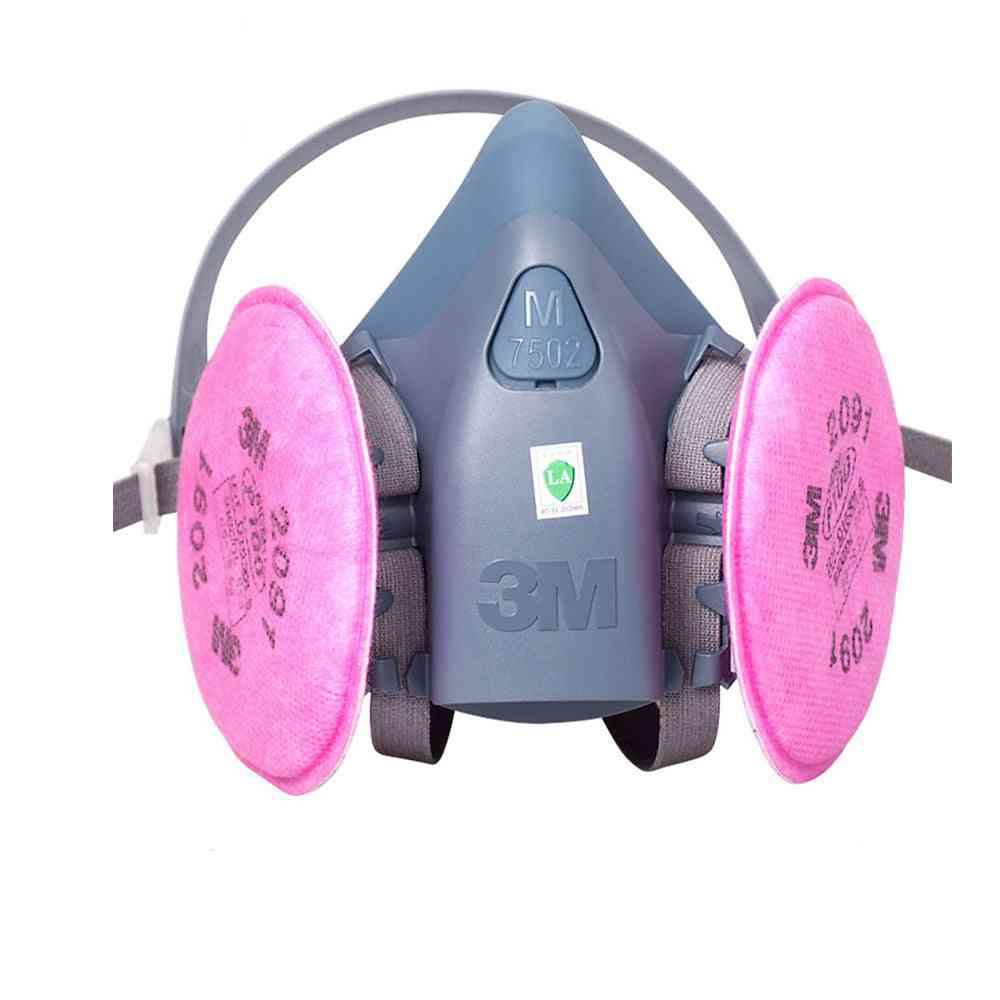 Painting Spray Industry Particulate Filter  For  Series Chemcial Respirator Dust Mask