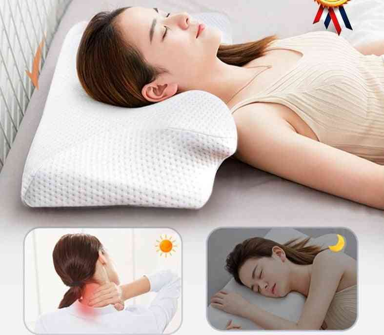 Memory Foam Cervical Pillow Orthopedic Neck Pain Pillow