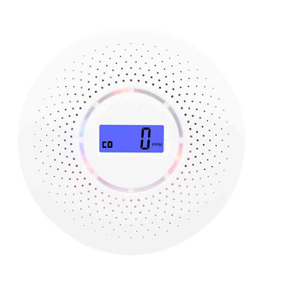 Smoke Alarm/lcd Carbon Monoxide Smoke Integrated Alarm Detector