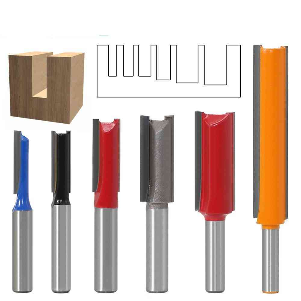 Shank 2 Flute Straight Woodworking Tools Router Bit