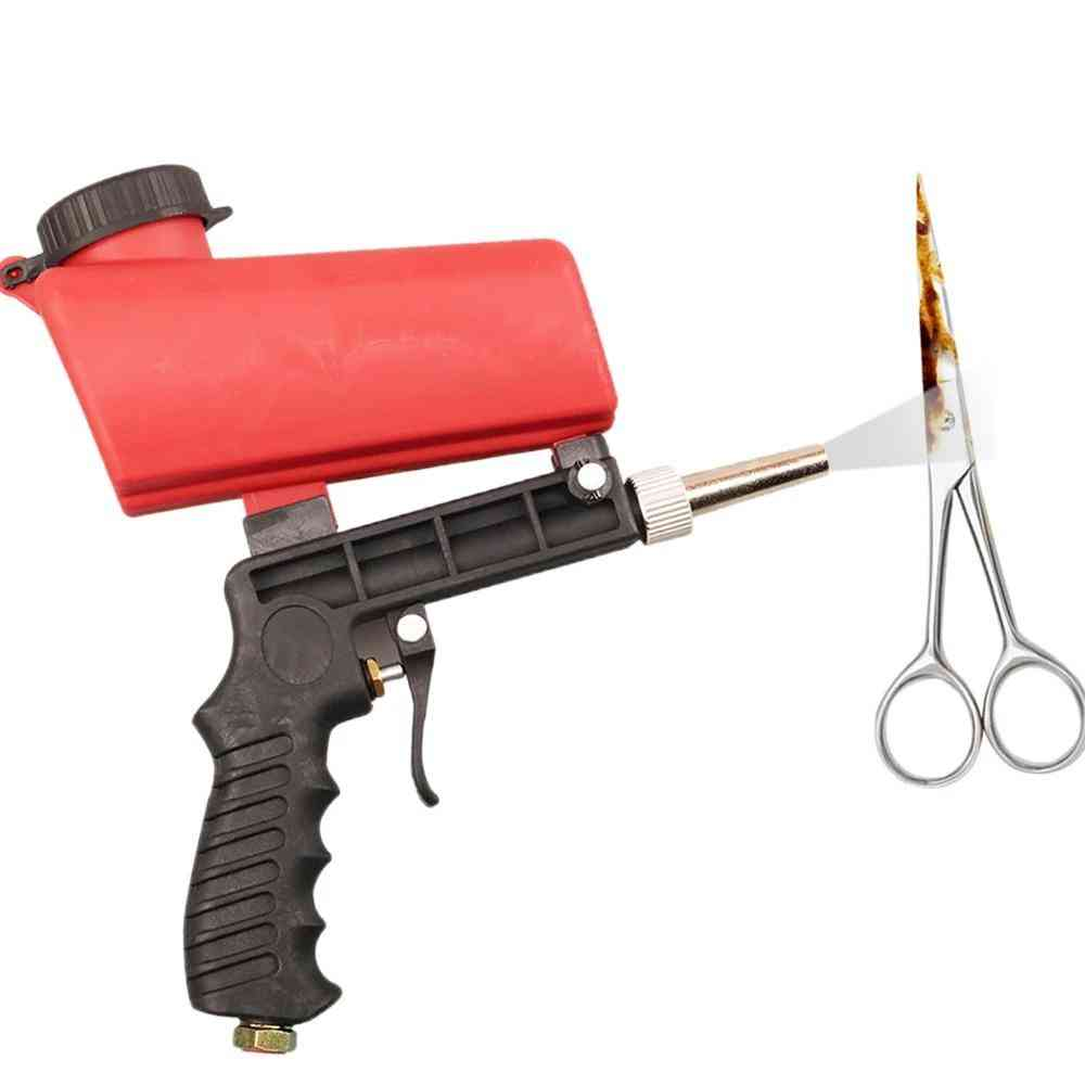 Portable Pneumatic Sandblaster, Spray Gun- Sand Blasting Machine Tool