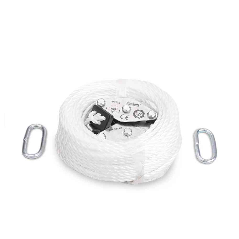 Winch Stainless Steel Cargo Lifting Pulley Set