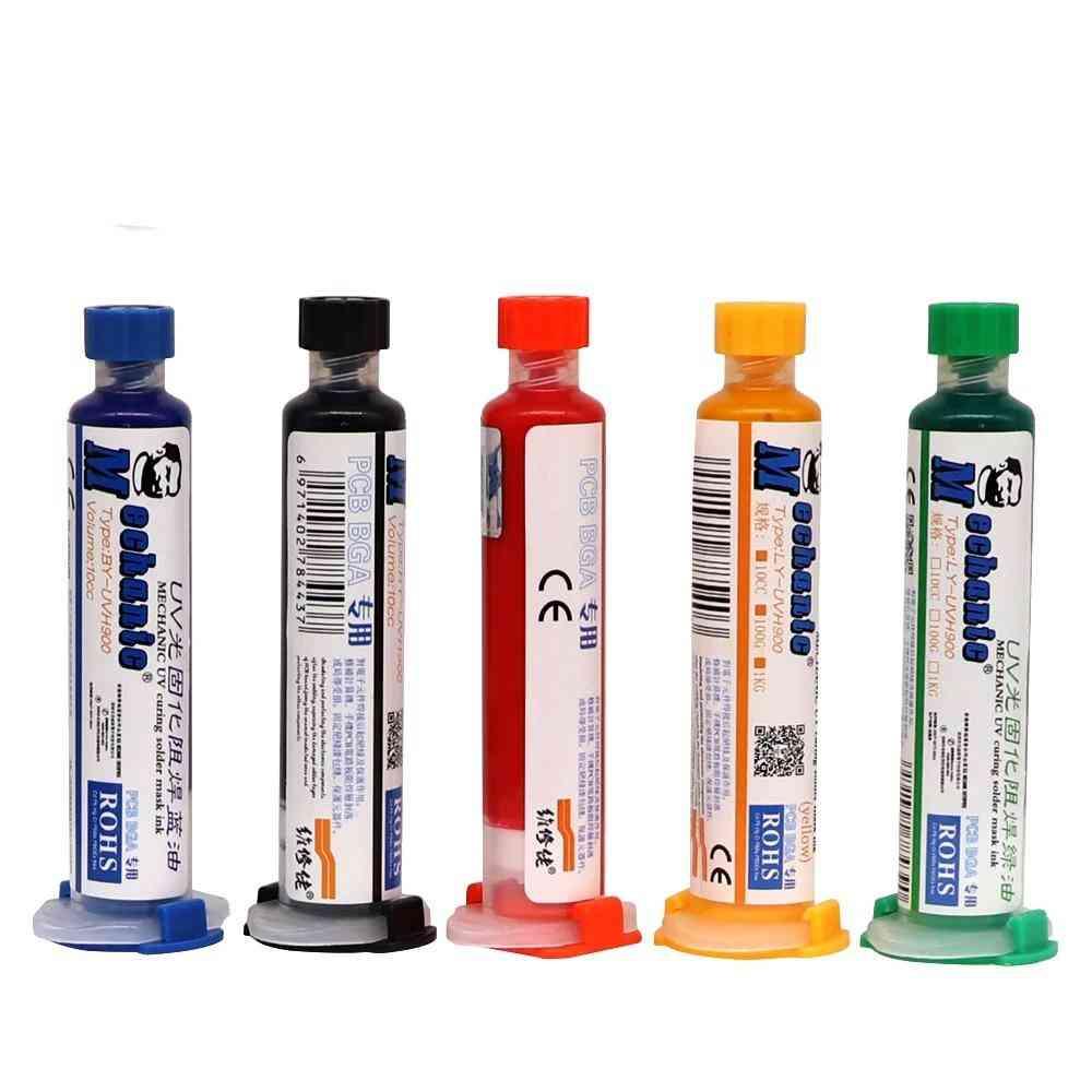Solder Paste Flux Uv Mask, Oil Welding Flux For Pcb Bga Circuit Board Protect
