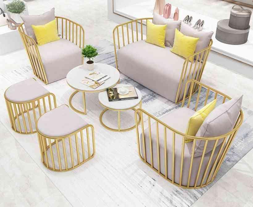 Nordic Clothing Store Sofa Shop With Salon Reception Sofa Net
