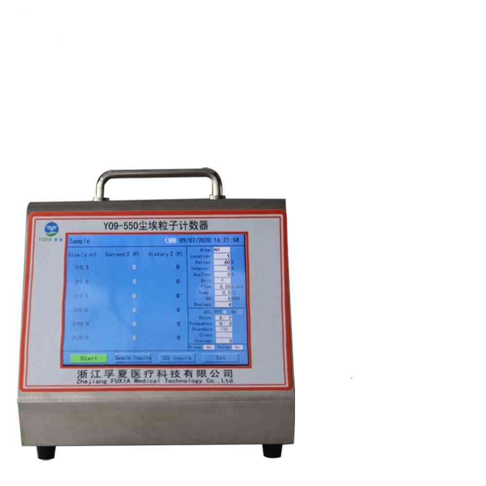Digital Laser Airborne Particle Counter Dust Particle Counter