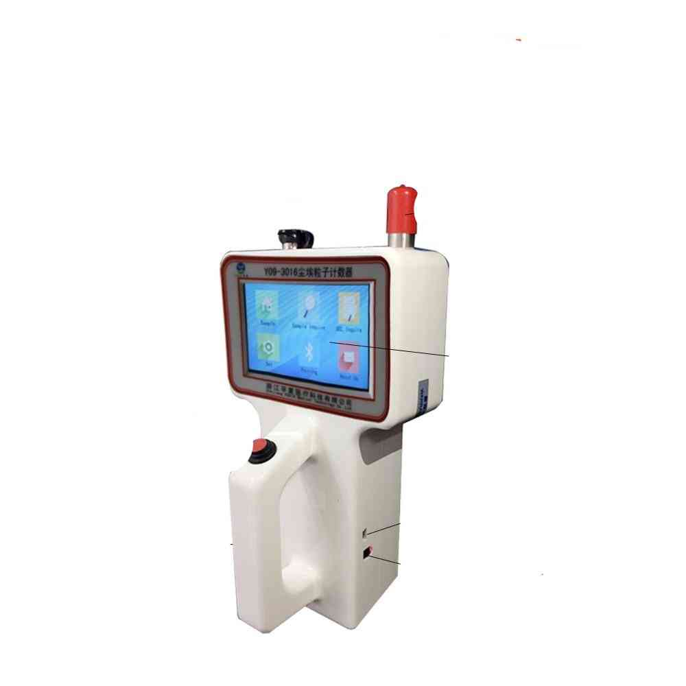 Portable Dust Particle Counter With Bluetooth Printer
