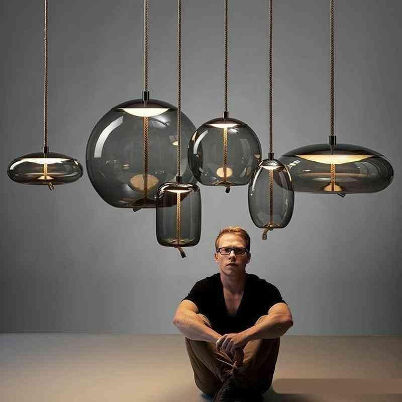 Deco Glass Lustre Pendant Lights