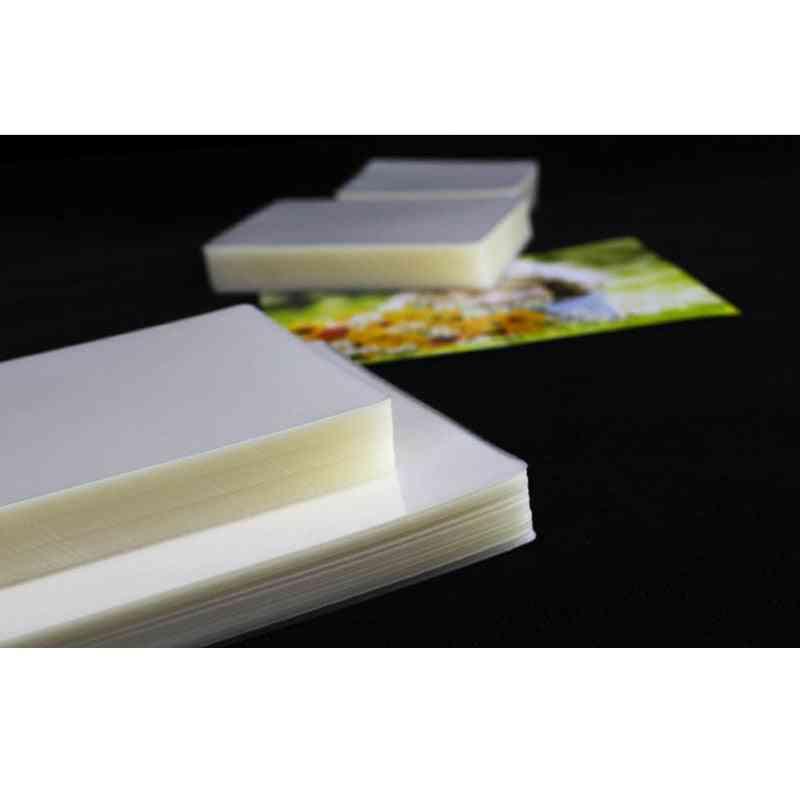 Laminating Photo Files Card