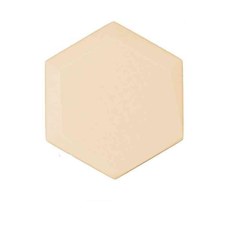 Hexagon 3d Leather Acoustic Panels, Soft Leather Panel For Background Wallpaper