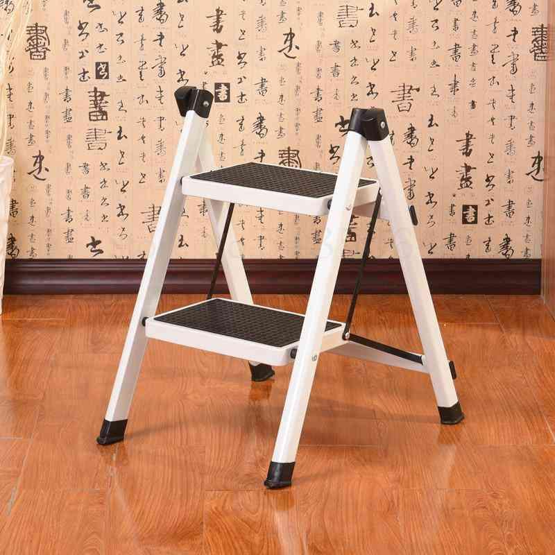 Ladder Household Herringbone Ladder Two Step Ladder Two Step Ladder Shelf