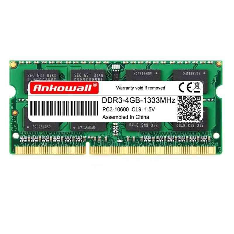 1600 Mhz Sodimm Ddr3l Ram Notebook Memory