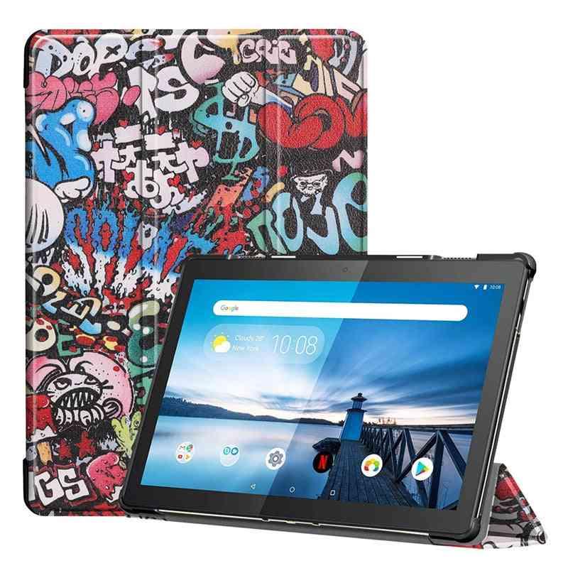 Lenovo Tab M10 Fhd Plus Case Funda Pu Leather Stand Case