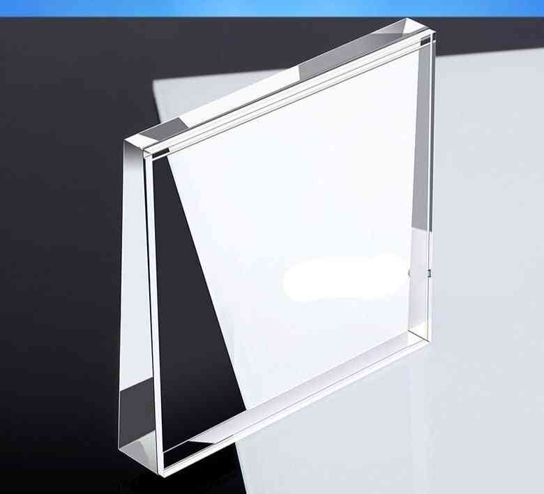 Mobile Phone Table Clear Advertising Sign Display Stand Acrylic Menu Price Tag Base Holder