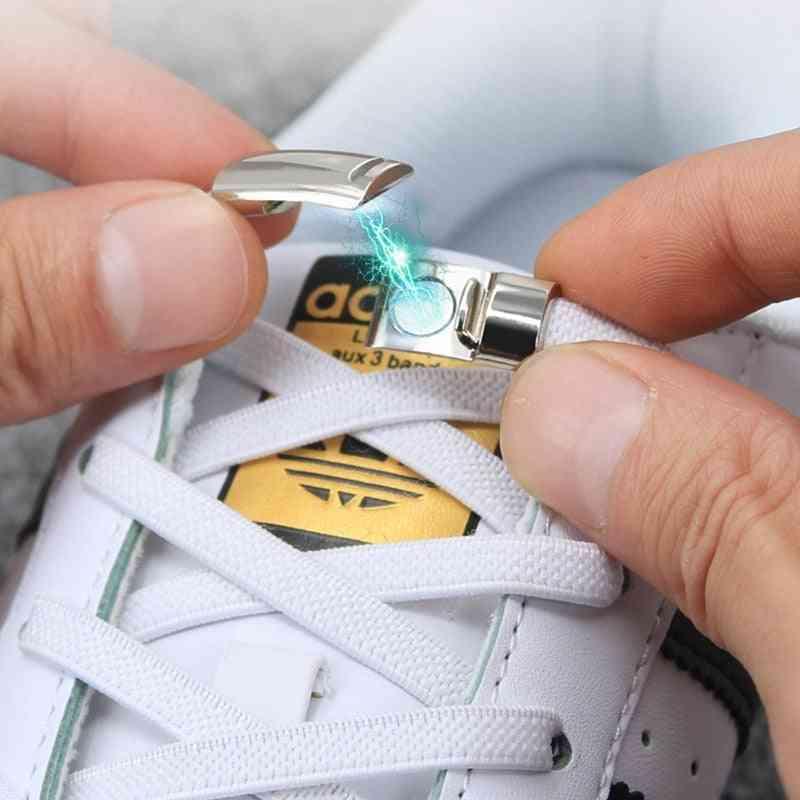 Magnetic Metal Lock Tie Shoelaces