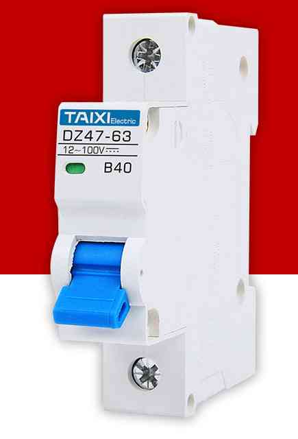 Circuit Breaker, Electric Car, Battery Protector Din Rail Switch
