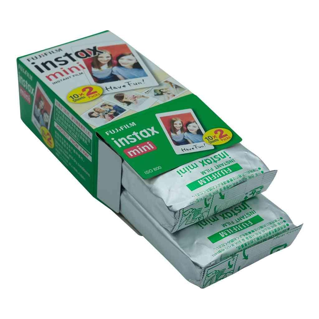 Instax Mini Film White For Fujifilm Instant Photo Camera Mini 9-11 Mini 8-90 Films