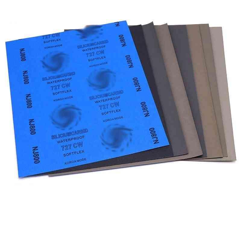 Abrasive Sandpaper Paper Sheets Surface