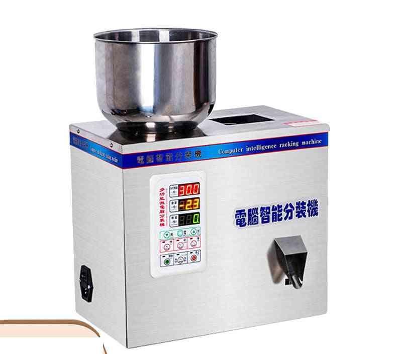 Metering And Packing Granule Powder Filling Machine, Intelligent Weighing