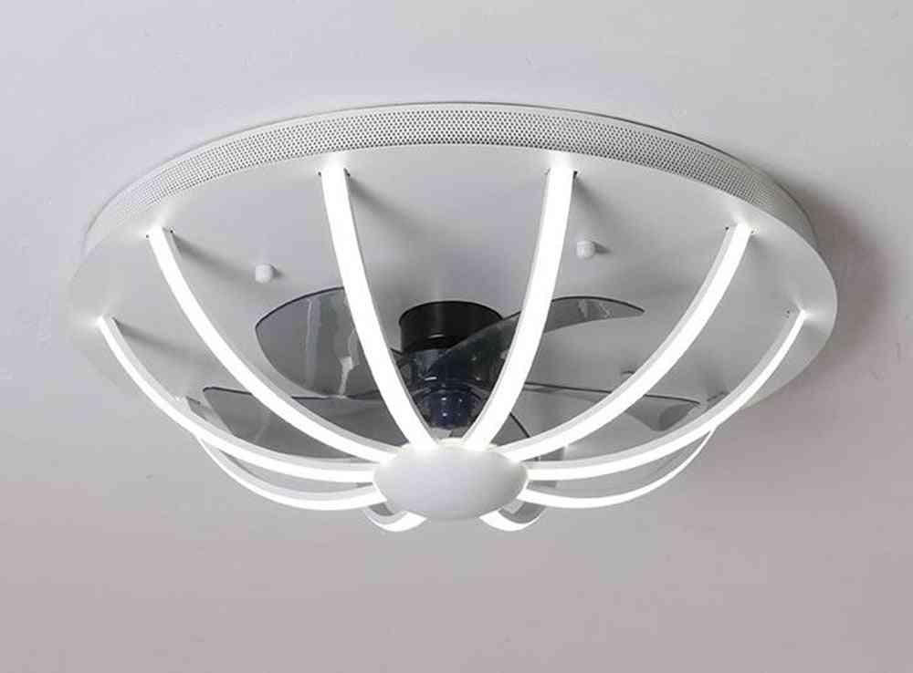 Nordic Fan Lamp Home Living Room Ceiling Fan Light