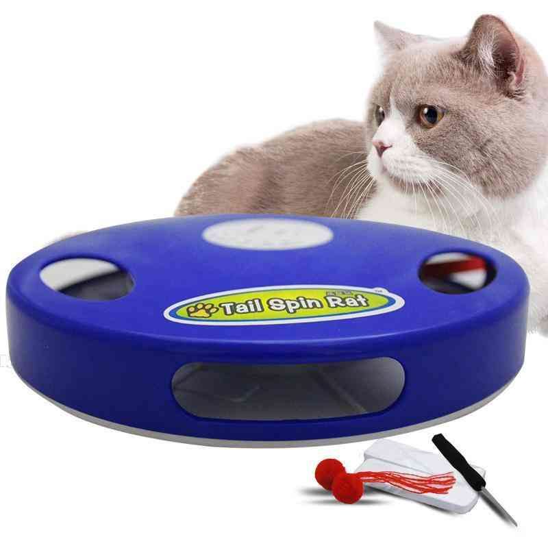 Multi-position Adjustable, Automatic Cat Toy