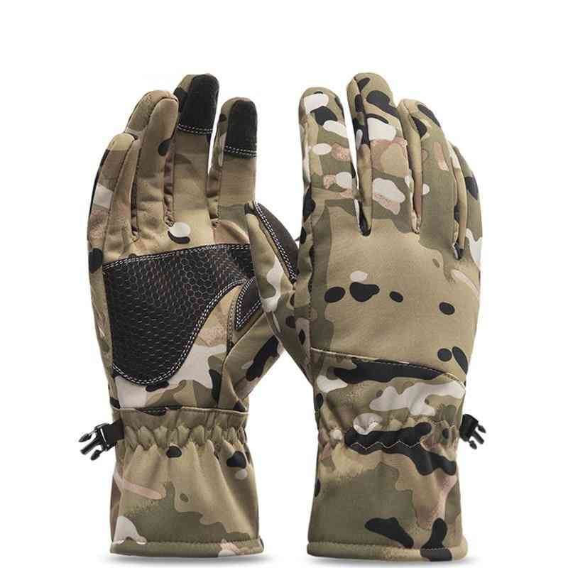 Winter Camouflage Hunting Fishing Gloves