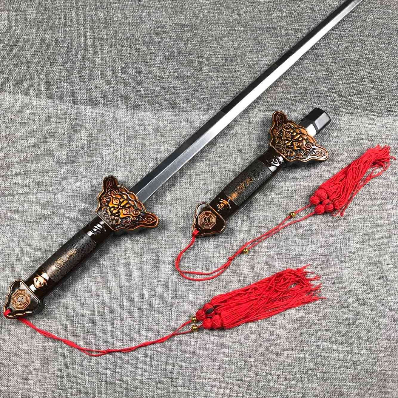 Shaolin Sword, Martial Arts, Kung Fu Tai Chi Extend Perform Scalable Magic Blade, Outdoor Fitness Products