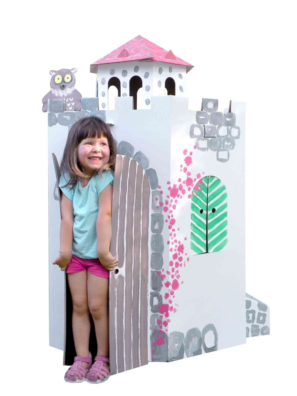 Big Colour-in Cardboard Castle
