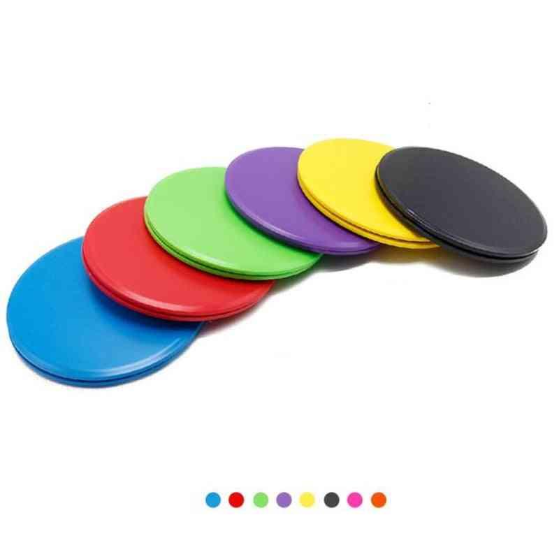 Gliding Discs, Slider Fitness Disc, Exercise Sliding Plate For Yoga, Gym Abdominal Core Training Equipment