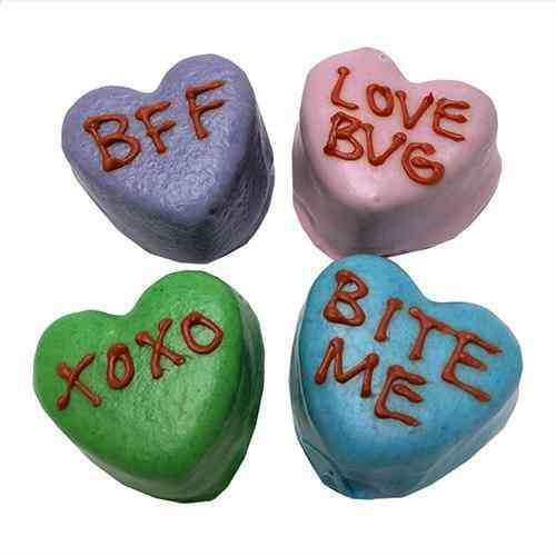 Candy Heart Cake Bites (case Of 12)